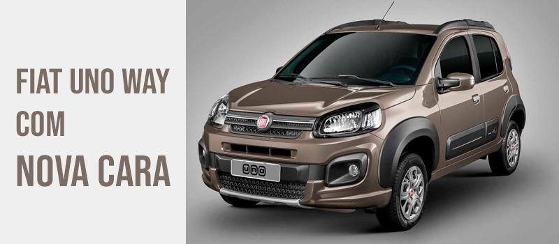 Fiat Uno Way retorna ao Brasil com nova cara
