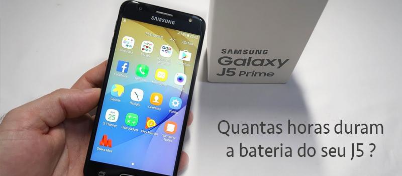 Samsung J5 Prime: Quantas horas duram a bateria do seu J5?